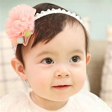 Bow Lace Hair Band bundle 10 pc baby bow ribbon elastic lace