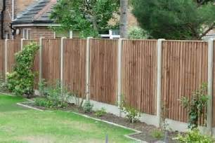 decorating your garden with wooden fence design privacy