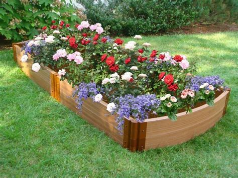 raised flower garden ideas garden bed ideas on frontyard and backyard homescorner