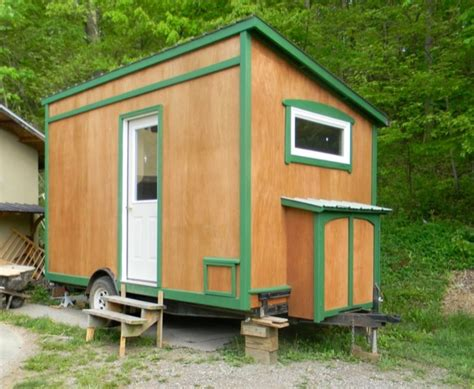 tiny house with porch 112 square feet off grid tiny house with folding porch roof