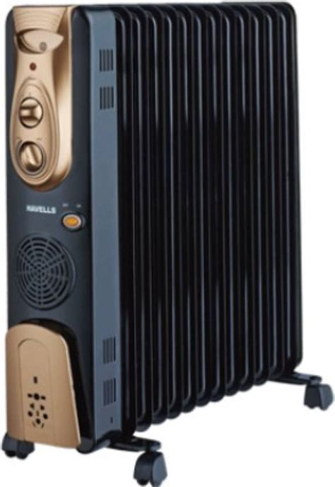 room heaters uk havells ofr 13 fin with ptc fan heater 2900w filled room heater price in india buy havells