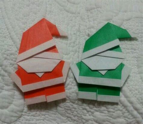 How To Make An Origami Santa - origami santa paper origami