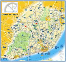 Lisbon Subway Map by Lisbon Bus Tram And Metro Map Lisbon Portugal Mappery