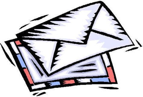 Business Letter Clipart Mail Letters Clipart 63