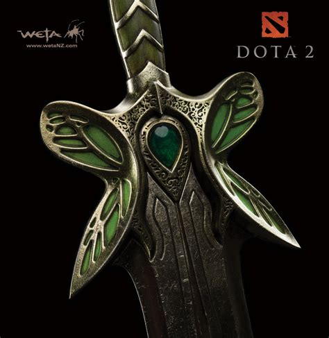 Dota Graphic 28 dota 2 butterfly sword 28 quot prop replica by weta at