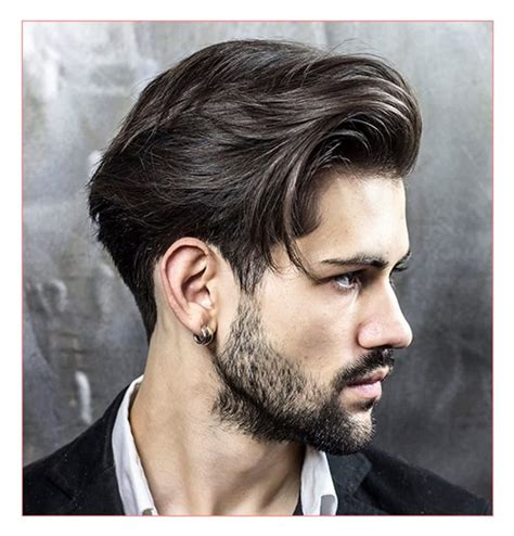 Length Mens Hairstyles by Mid Length Hairstyle Fade Haircut