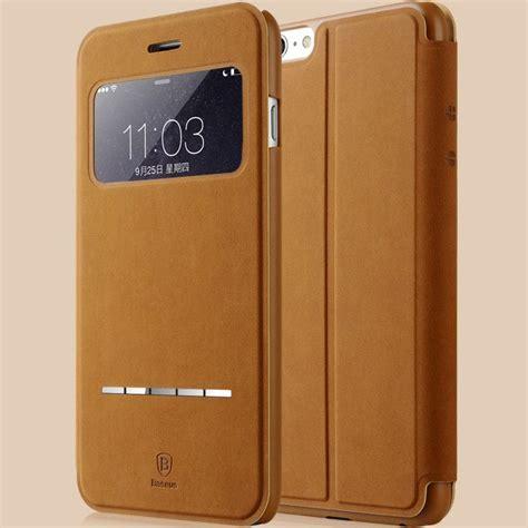 Casing Housing Iphone 6 Model Iphone 8 Ori 2 deluxe original baseus terse series flip leather for iphone 6 4 7 ultra thin smart sleep