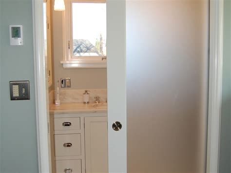 frosted glass pocket door bathroom small bathroom pocket door home design ideas