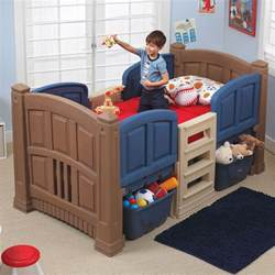 boys and bed boy s loft storage bed beds with storage step2