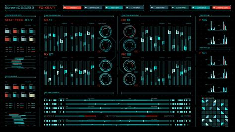 After Effects Hud Screentron Ui Template Hud After Effects Template