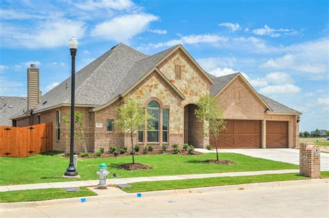 new available homes in mansfield lake estates