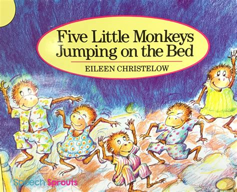 libro five little monkeys jumping speech sprouts on feedspot rss feed