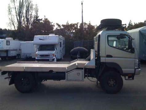 mitsubishi fuso 4x4 expedition mitsubishi fuso fg 4 215 4 expedition vehicle truck truck