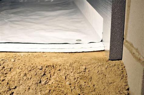 Crawl Space Vapor Barrier   CleanSpace® 20 mil Polyethylene