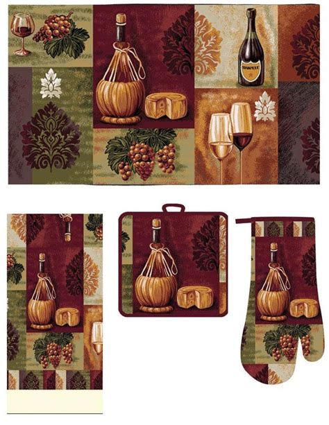 Vineyard Kitchen Rugs Wine Kitchen Rugs Kitchen Ideas