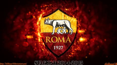 Pin Kaleng Club Bola As Roma a s roma wallpaper 2015 by belthazor78 deviantart on