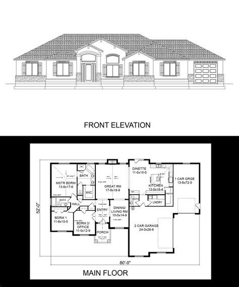 vaulted ceiling house plans 1000 images about one story house plans on pinterest