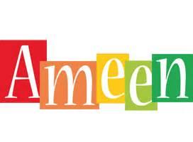 ameen logo name logo generator smoothie summer