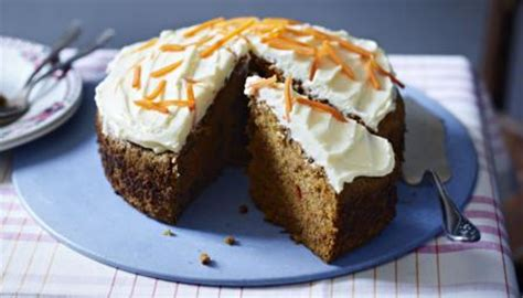 bbc food recipes classic carrot cake