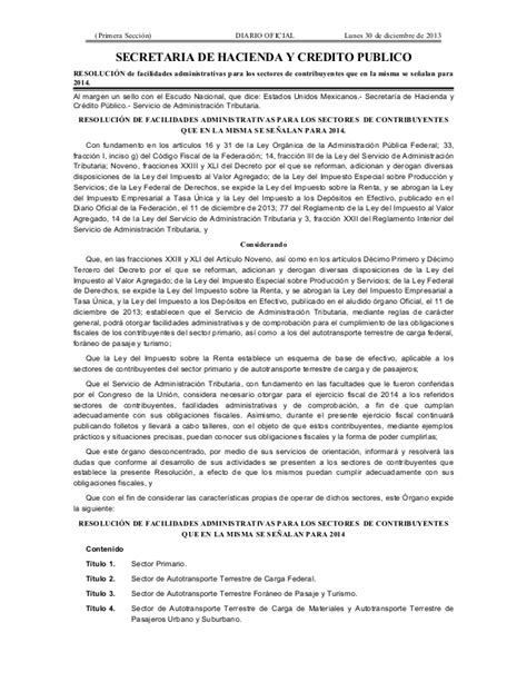 jurisprudencia fiscal diciembre 2013 miscelanea fiscal 2014