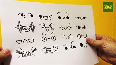 imagenes de ojos kawaii expresiones kawaii para tus dibujos n 186 3 dibujos kawaii