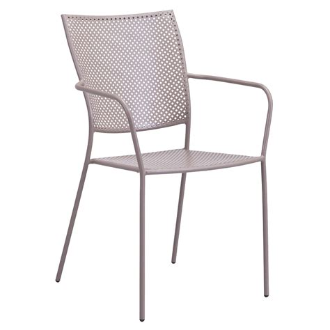 Modern Outdoor Dining Chairs Phoebe Taupe Modern Outdoor Dining Chair Eurway