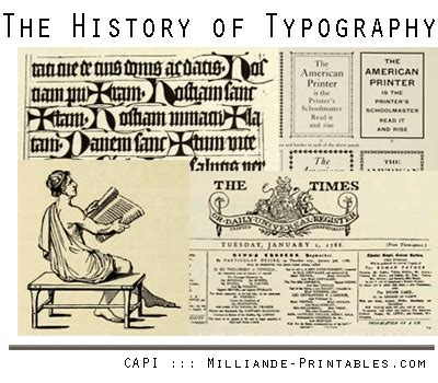 typography description what does typography typography definition the