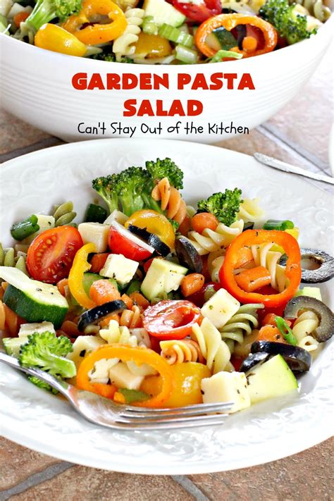 Garden Pasta by Garden Pasta Salad Can T Stay Out Of The Kitchen