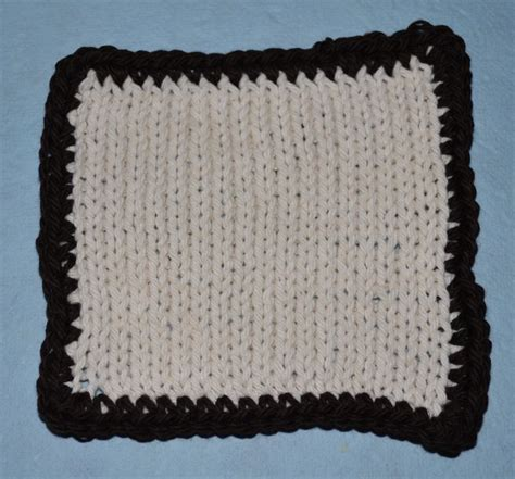 how to crochet a border on a knitted blanket how to crochet a simple border on any knitting project