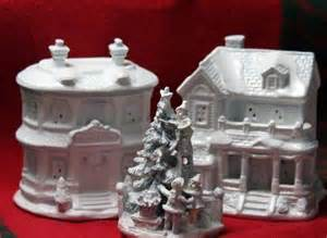 Do It Yourself Christmas Centerpieces - make a christmas village dollar store crafts