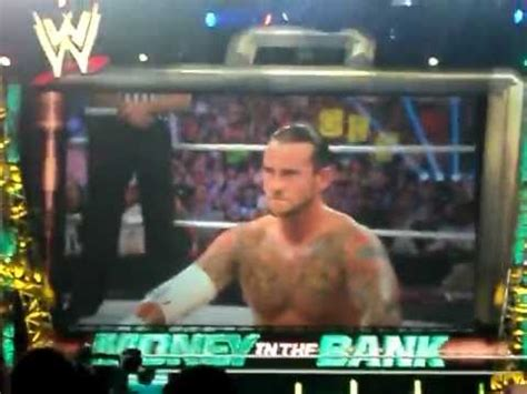 Cm Punk Wins Money In The Bank - chicago hates john cena wwe money in the bank 2011 cm
