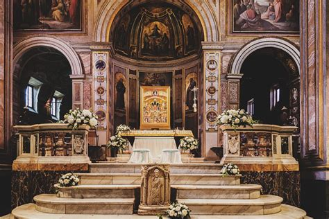 little tips for your church decoration wed in florence blog