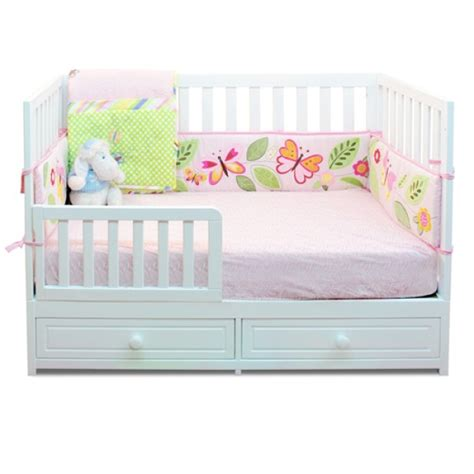 Marilyn House On Cribs by Marilyn 3 In 1 Convertible Crib White