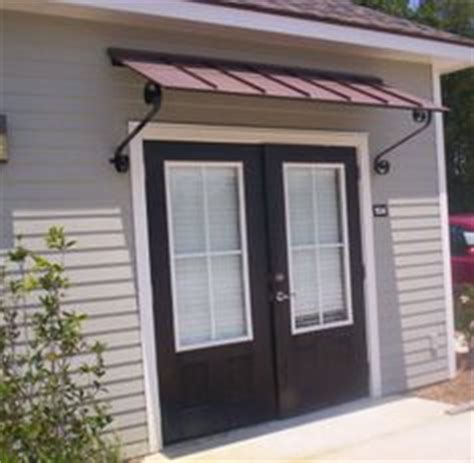 patio door awnings metal awnings by cannon copper porch patio pinterest