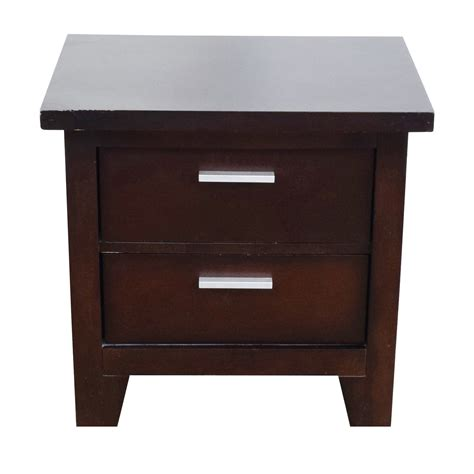 2 drawer end table 85 off ashley furniture ashley furniture two drawer