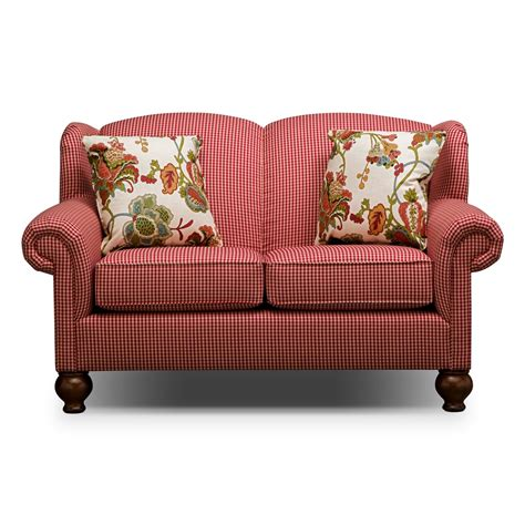 gingham sofa and loveseat gingham sofa country cottage sofas foter thesofa