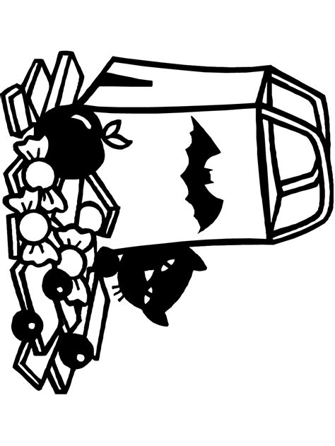 St Kerroppi free coloring pages of bag of popcorn
