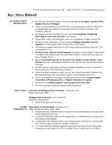 Sample Resume Youth Ministry by Pastor Resume Samples Free Resume Templates