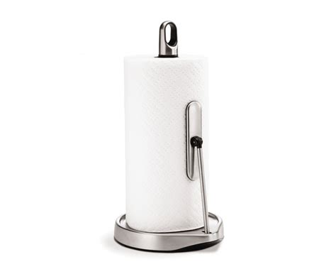 Holder For Kitchen by Simplehuman Tension Arm Kitchen Roll Holder Stainless Steel