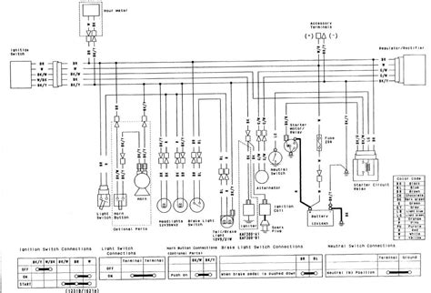 wiring diagram for kawasaki mule 550 wiring get free