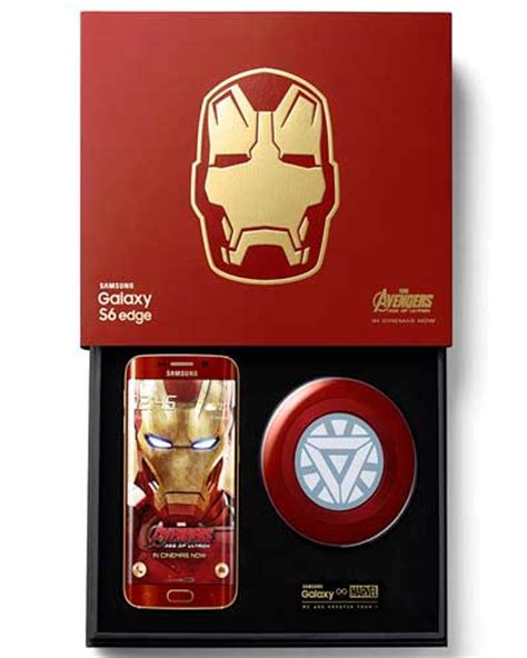 theme s6 edge plus iron man samsung galaxy s6 edge iron man edition officially launched