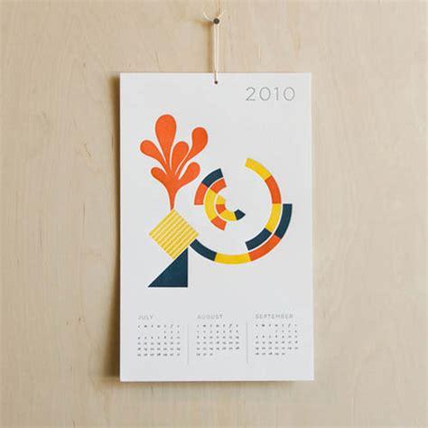 design milk calendar 2010 calendar from seesaw design milk