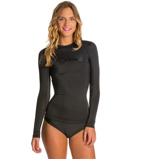 dakine amana l s rashguard w shelf at swimoutlet