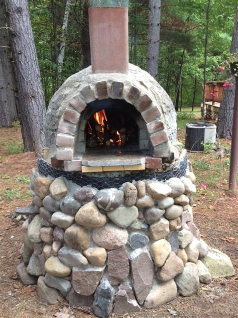 This is our backyard brick oven. « Chequamegongirl
