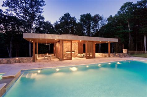Modern Hous by Modern Pool House