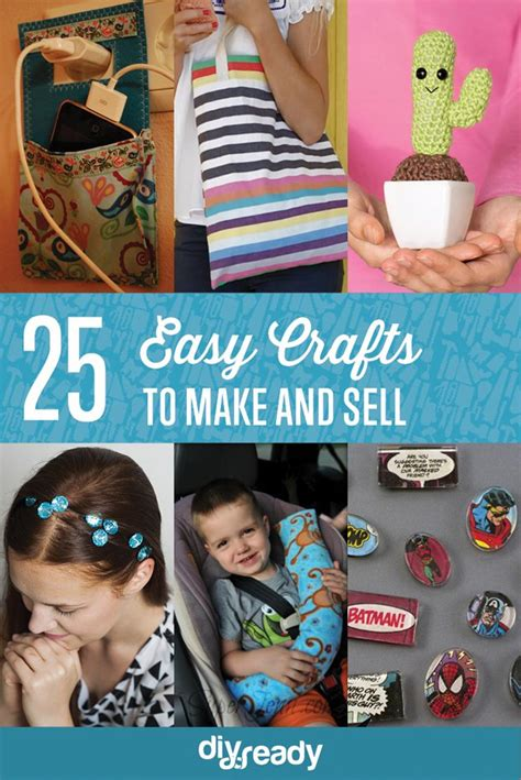 easy craft projects to sell 25 easy crafts to make and sell diy ready
