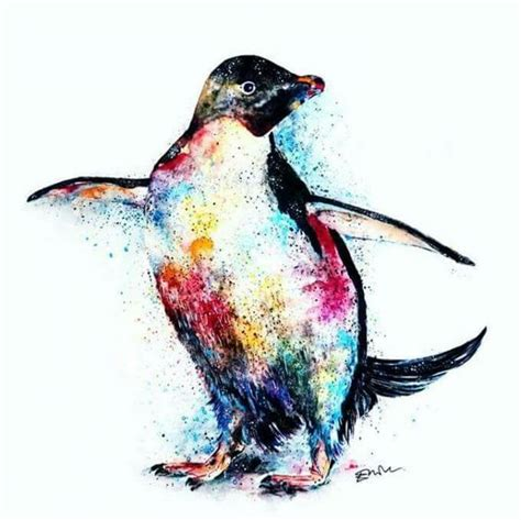 colorful penguins the world s catalog of ideas