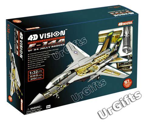 4d Puzzle Black With 3d Detail 4d vision puzzle f14 us navy f 14a tomcat f 14 3d model ebay