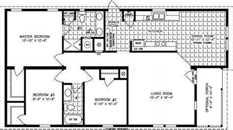 square floor plans open floor plan 1200 sq ft house plans 1200 sq ft cabin