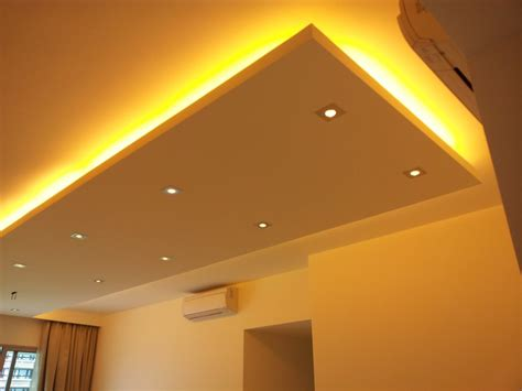 L For Ceiling by Island Ceilings False Ceilings L Box Partitions